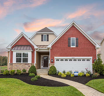 Lennar home at St. Charles community