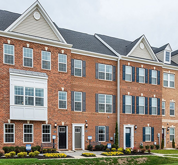 Lennar Townhome at St. Charles community in Charles County, MD