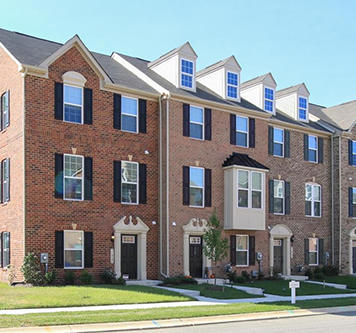 Ryan Townhome at St. Charles community in Charles County, MD